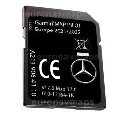 Mercedes Benz Garmin Map Pilot NTG5 Star 2 v17 Europa 2022. A213 906 41 10