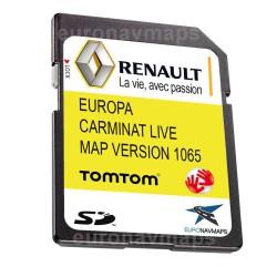 sd card maps navigator renault tomtom carminat live europe 2021 maps 10.65
