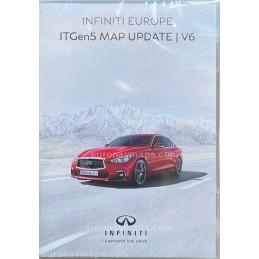Sd card Infiniti InTouch Navigation System Europe 2021. ITGen5 Map Update V6