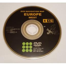 dvd maps europe west update gps navigator toyota lexus tns 600 tns700 gen 3 gen 5