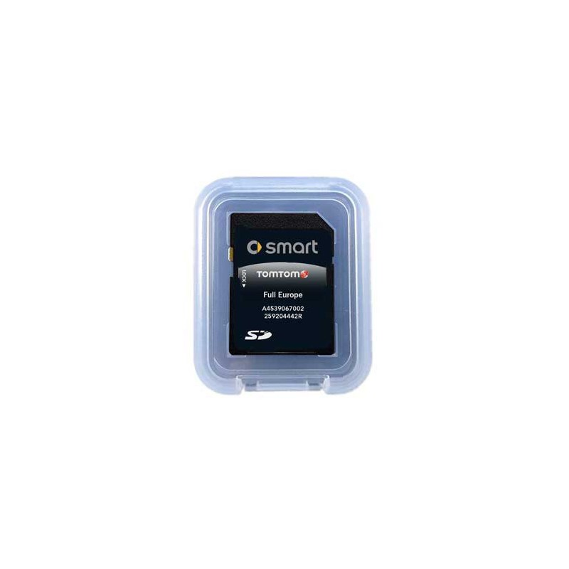 sd card smart fortwo coupe europe 2020,