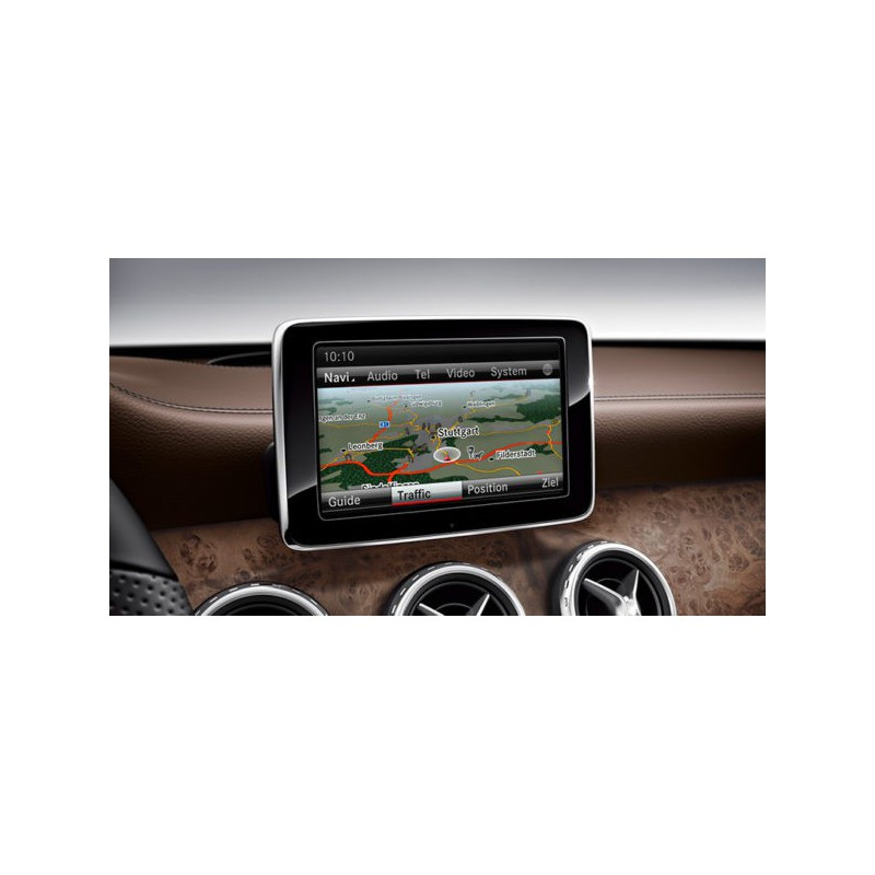 GPS navigation map update Mercedes Comand Online NTG5.5