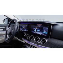 GPS navigator map update Mercedes Benz Comand Online NTG5.5
