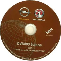 atualização gps dvd800 my2009 / my2010 - mapa europa - ano 2019