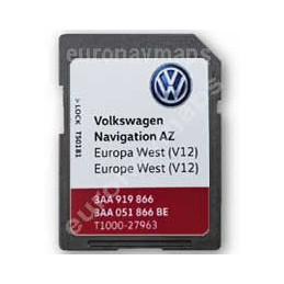 Sd card RNS315 AZ v12 Europe 2020 3AA051866