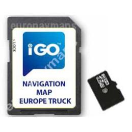 MicroSd card IGO Primo Truck Europa 2020