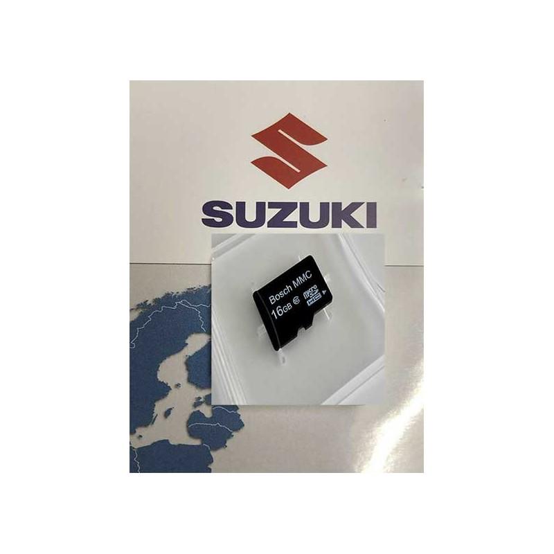 SUZUKI MMC SX4 Navigation MicroSD Bosch Europe