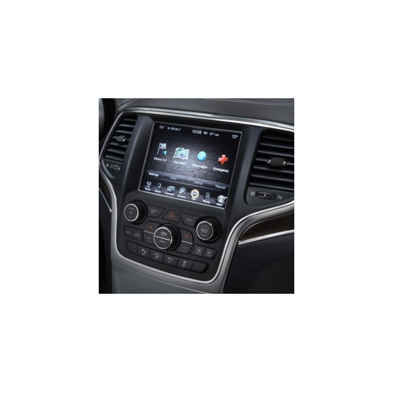 Map update for gps navigator Chrysler, Dodge, JEEP, RAM