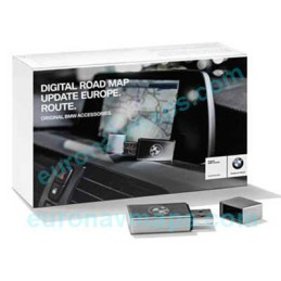 Update GPS navigator maps BMW Road Map Europe ROUTE 2021-1