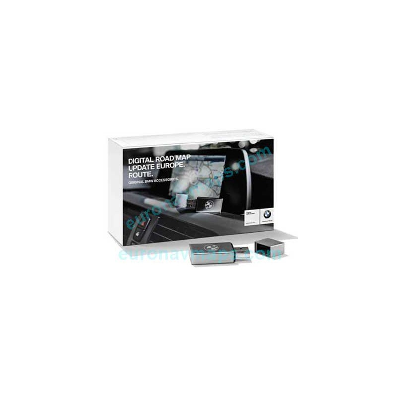 Update GPS navigator maps BMW Road Map Europe ROUTE 2020-2
