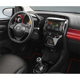 Toyota AYGO models with X-NAV navigation system