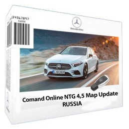 обновить gps навигатор mercedes comand online ntg 4.5 россия
